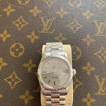 Rolex Day-Date 36 White gold 36mm Grey No numerals