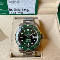 Rolex Submariner Date 116610LV 2019 pre-owned