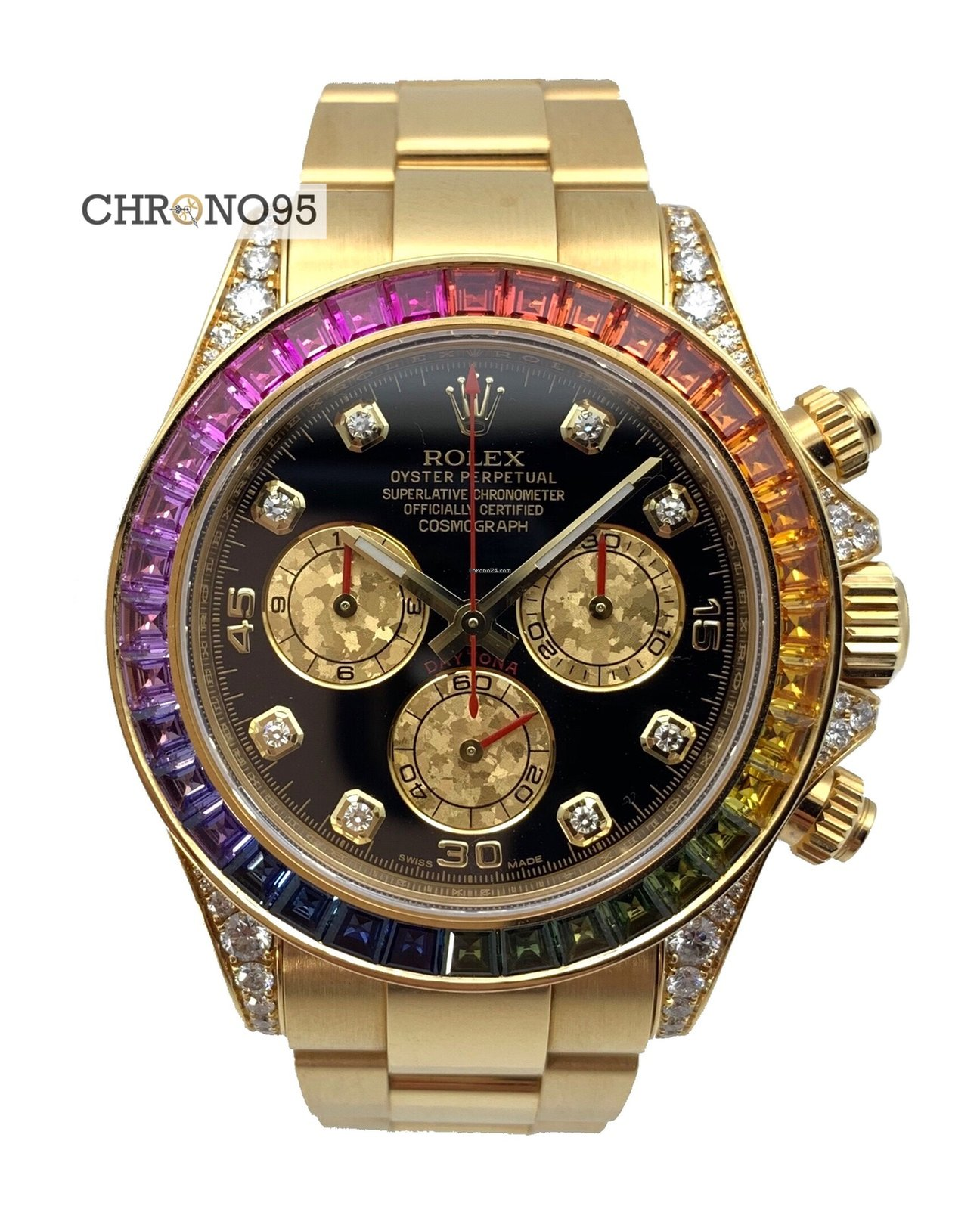 Rolex Oyster Perpetual Cosmograph Daytona 116598RBOW