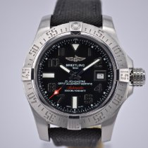 Breitling Avenger II Seawolf Steel 45mm Black United Kingdom, Harrogate