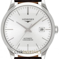 Longines Record L2.821.4.72.2 2019 new