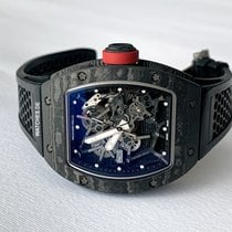 Richard Mille Carbon Manual winding Transparent 49.9mm new RM 035
