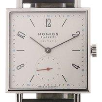 NOMOS Tetra Neomatik Acier 33mm Blanc