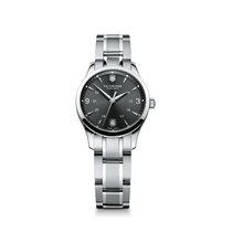 Victorinox Swiss Army Alliance Small, dark gray dial, stainles...
