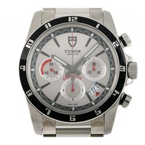 Tudor Grantour Chrono Steel 42mm Silver