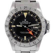 Rolex 1655 Explorer II Steve McQueen Stainless Steel  Mens Watch