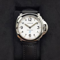Panerai Luminor Base  Logo Acciaio Mens Watch pam00630