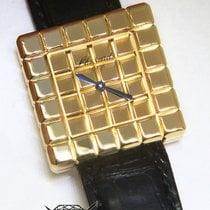 Chopard by De Grisogono Ice Cube 18k Yellow Gold Ladies Quartz...