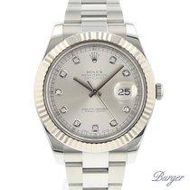 Rolex Datejust II Fluted Diamonds