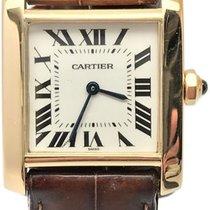 Cartier Tank Francaise 1821 18k Gold