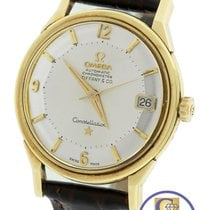 Omega RARE 1962 Omega Constellation Tiffany Pie Pan 14K Yellow...