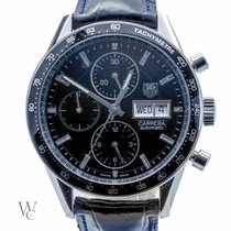 TAG Heuer Carrera Calibre 16 Steel 42mm Black