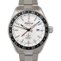 Alpina Alpiner GMT 4 Automatic Dual Time Zone Watch – AL-550S5...
