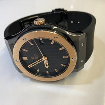 Hublot Classic Fusion 45, 42, 38, 33 mm neu 2011 Automatik Uhr mit Original-Box und Original-Papieren 511.CP.1780.RX