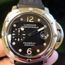 Panerai Luminor Submersible pre-owned 44mm Steel