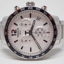 Tissot Quickster White Dial Stainless Chronograph Watch...