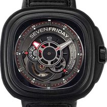 Sevenfriday Steel Automatic Black 47mm new P3-1