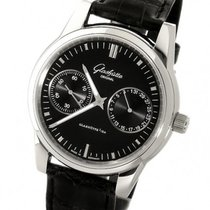 Glashütte Original Senator Hand Date Steel 40mm Black