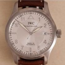 IWC Pilot Mark Steel 38mm Silver Arabic numerals