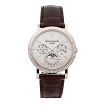 Patek Philippe Perpetual Calendar White gold 38mm Grey No numerals United States of America, Pennsylvania, Bala Cynwyd