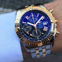 Breitling Chronomat Evolution Gold/Steel 44mm Black Roman numerals
