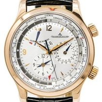 Jaeger-LeCoultre Master World Geographic Oro rosado 42mm Champán Sin cifras