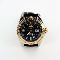 Breitling Cockpit Gold/Steel 41mm Roman numerals