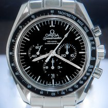 Omega Speedmaster Professional Moonwatch Steel 44mm Black No numerals
