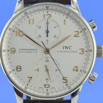IWC Portuguese Chronograph Сталь 40.9mm Cеребро