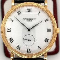 Patek Philippe Calatrava Yellow gold 33mm White Roman numerals United States of America, New York, New York