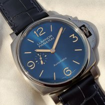 Panerai Luminor Due Titan 45mm Albastru Arabic