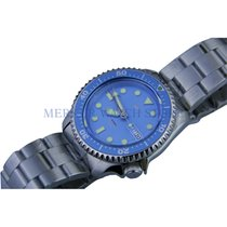 Mercure Stål 40mm Automatisk Sharkey NH36Movement Mens SKX007 Automatic Vintage Dive Dive ny