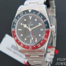 Tudor Black Bay GMT Stahl 41mm Schwarz