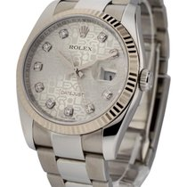 Rolex Used 116234_used_silver_jub_dd Mens 36mm Datejust 116234...