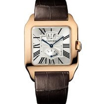 Cartier Santos Dumont Power Reserve 38mm Rose Gold