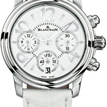 Blancpain Women Steel 38mm White United States of America, New York, Airmont