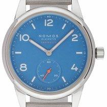 NOMOS Club Neomatik Steel 37,00mm Blue