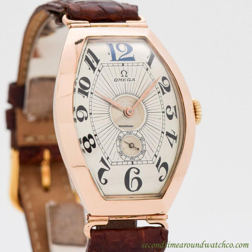 64884b98d7e Comprar relógios Omega Ouro rosa