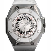 Linde Werdelin Oktopus Moonlite White 46 Automatic Moonphase L.E.