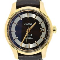 Omega De Ville Hour Vision new Automatic Watch with original box and original papers 431.63.41.21.13.001