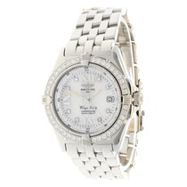 Breitling Wings Lady ''Mother of Pearl dial'' Diamonds