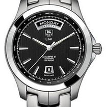 TAG Heuer Link Wjf2010.ba0592 Day Date Exhibition Back Mens...