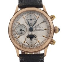 Dugena Chronograph 37mm Automatic pre-owned Champagne