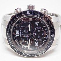 Tissot V8 Black Dial Stainless Chronograph Quartz Watch...
