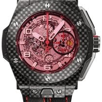 Hublot Big Bang Ferrari new Automatic Chronograph Watch with original box and original papers 401.QX.0123.VR