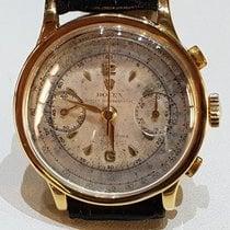 Rolex Dobry Żółte złoto Manualny