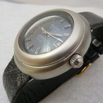 Philip Watch 40mm Automatic 1960 pre-owned Caribe Silver