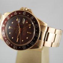 Rolex 40mm Remontage automatique 1968 occasion GMT-Master Brun