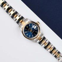 Rolex 26mm Automatisch 1983 tweedehands Lady-Datejust Blauw
