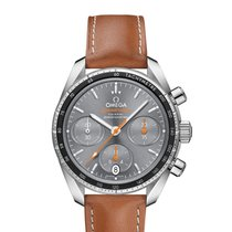Omega Speedmaster Steel 38mm Grey No numerals United States of America, New York, New York